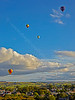 Balloon Festival at Strathaven - 24 August 2014