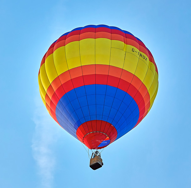 Strathaven Balloon Event over Lanarkshire - 25 August 2018
