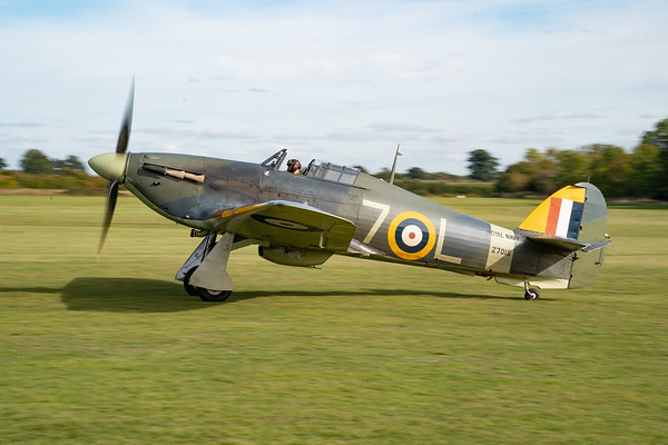 Shuttleworth, Old Warden-> Race Day 2018-> Display-> Nod To Reno, Aircraft-> Hawker-> Hurricane-> Sea Hurricane Mk1B-> Z7015 - 07/10/2018@15:02