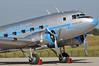 ILA Berlin at Flughafen Schönefeld (SXF) on September 14, 2012. Goldtimer Foundation Lisunov Li-2T Ha-LIX (cn 18433209). Painted in classic Malev - Hungarian Airlines - colours.