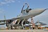 "ILA Berlin at Flughafen Schönefeld (SXF) on September 14, 2012. Polish Air Force MiG-29 (Product 9.12A) Fulcrum-A ""40 Red"" (cn 2960532040/4205)."