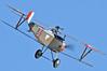 Imperial War Museum Duxford (EGSE) on September 7, 2012. Private Nieuport 17/23 Scout Replica  G-BWMJ (cn PFA 121-12351).