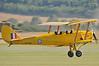 Imperial War Museum Duxford (EGSE) on September 7, 2012. de Havilland DH.82A Tiger Moth II G-ANRM (cn 85861). Painted as RAF DF112.