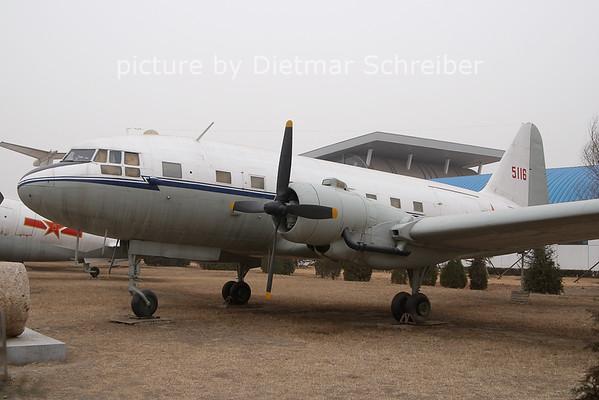 2011-03-18 5116 Ilyushin 12 China Air Force