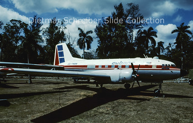 CU-T825 Ilyushin 14P (c/n unknown) Cubana