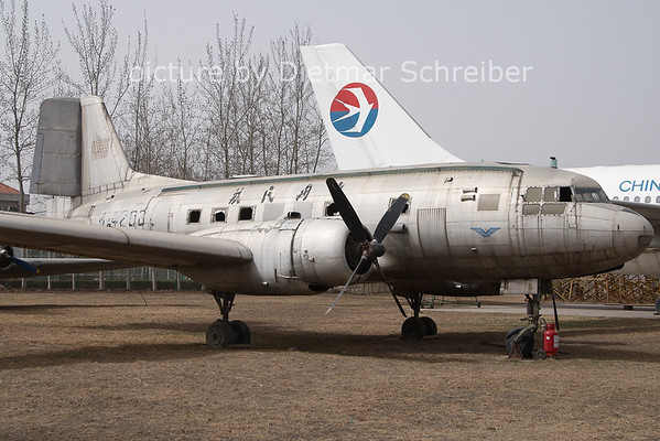 2011-03-18 B-4208 Ilyushin 14 CAAC