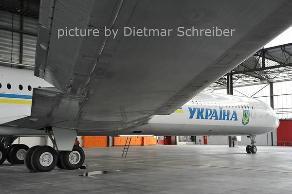 2011-06-08 UR-86527 Ilyushin 62 Ukraine Government