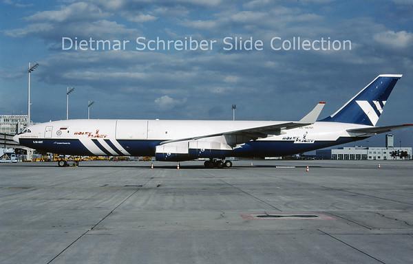 2009-10 RA-96101  Ilyushin 96-400T (c/n 97693201001) Polet Flight