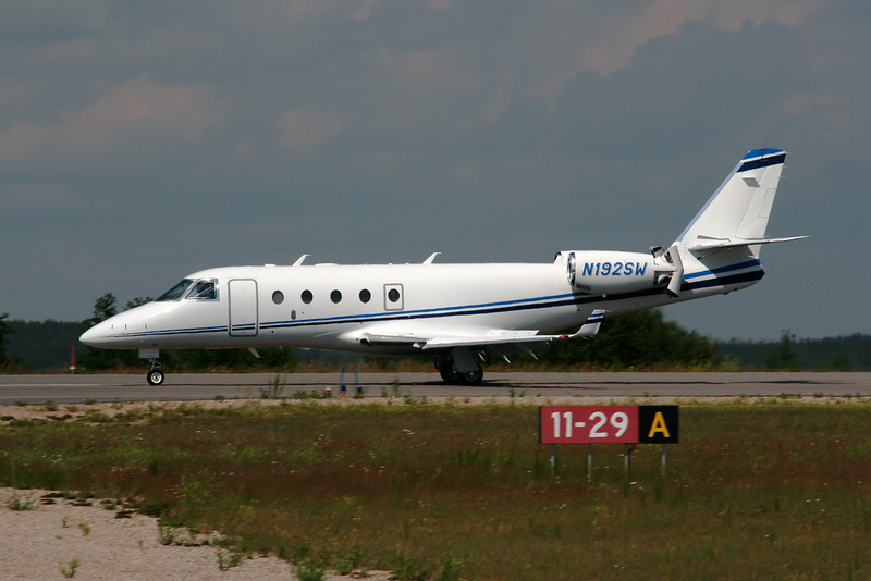 Israel Aircraft Industries Gulfstream G150.