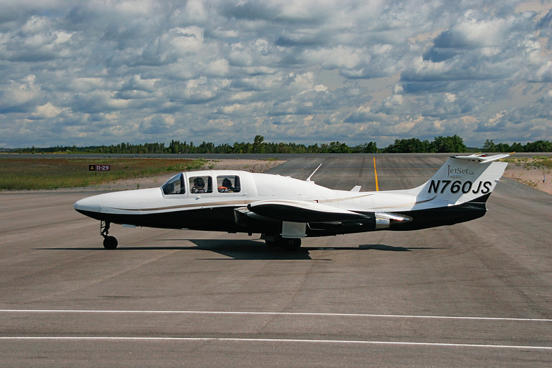 A Morane-Saulnier MS760 (built in 1961 - serial number 88).