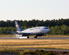 Nolinor's 737-200 C-GNLK landing at Dryden (CYHD), August 16, 2014 at 19:14 Local time.