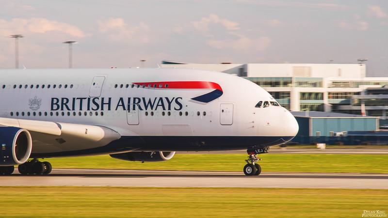 British Airways A380-800