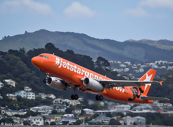 Jetstar Aircraft at Wellington