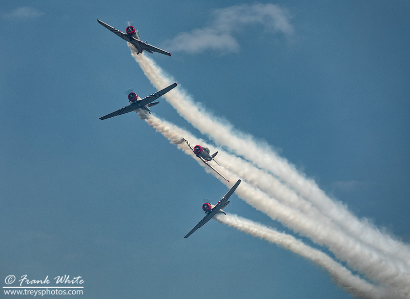 Geico Skytypers in T-6 Texans