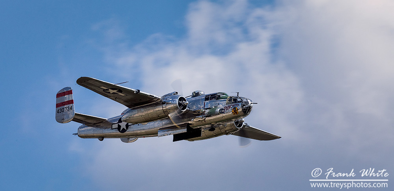 "B-25 Mitchell bomber ""Panchito"""