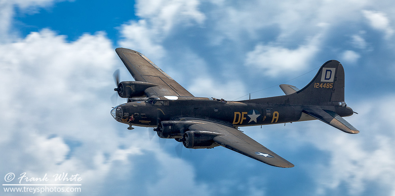 "B-17 Flying Fortress ""Memphis Belle"" replica"