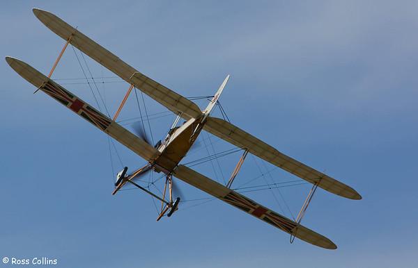 Joyeux Noel WWI Air Show, Hood Aerodrome, Masterton, 21 January 2012