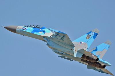 "Sukhoi Su-27UB Flanker-C ""69 Blue"""