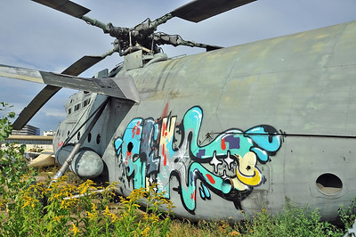"Former National Air & Space Museum at Khodynka Field in Moscow on August 11, 2012. Soviet Air Force Mil Mi-6 Hook ""29 Red"" (cn 76832098)."