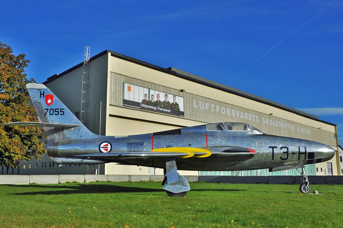 "Republic RF-84F Thunderflash ""T3-H"""