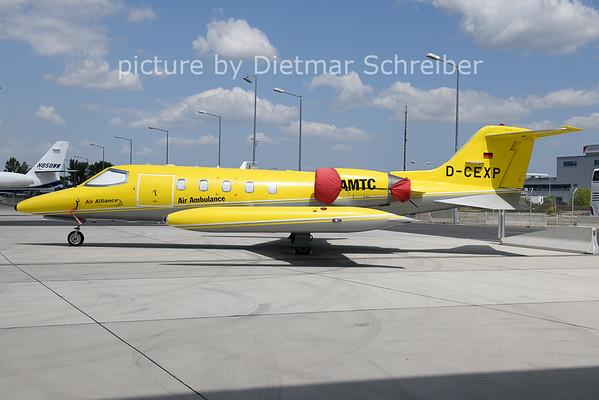 2021-07-19 D-CEXP Learjet 35 Air Alliance