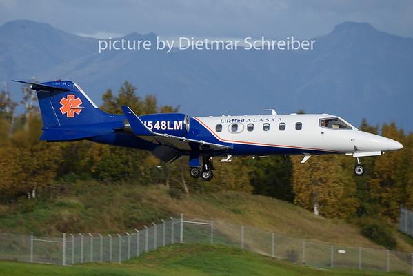 2018-09-23 N548LM Learjet 31 Lifemed Alaska