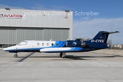 2021-04-11 D-CYES Learjet 35