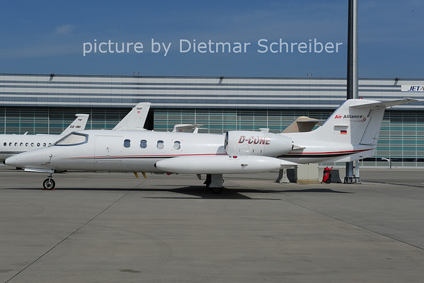 2014-04-03 D-CONE Learjet 35 AIr Alliance