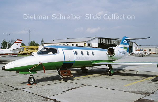 D-CONA Learjet 35A (c/n 35-114) Contact Air
