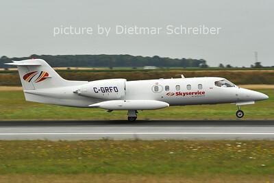 2011-07-15 C-GRFO Learjet 35 Skyservice