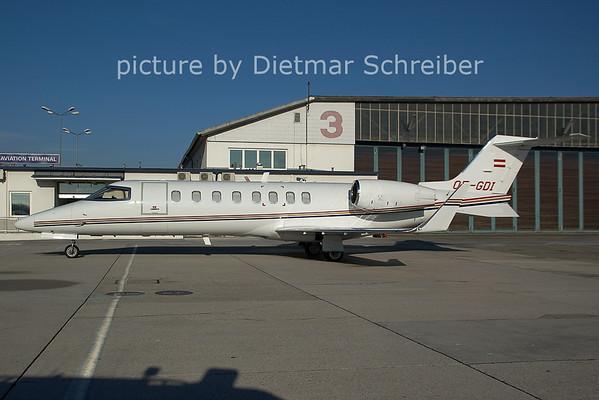 2006-12-06 OE-GDI Learjet 40