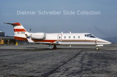 1982-04 OE-GNK Learjet 55 (c/n 55-013) Transair