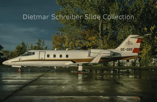 1998-11 OE-GRR Learjet 55 (c/n 55-059) Rogner International