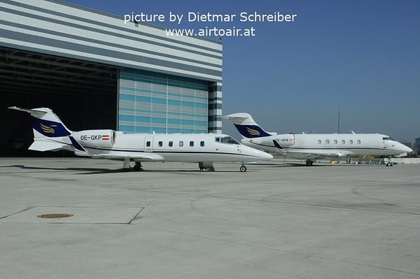 2006-03-27 OE-GKP Learjet 60 / OE-HPK CL300 Amira Air