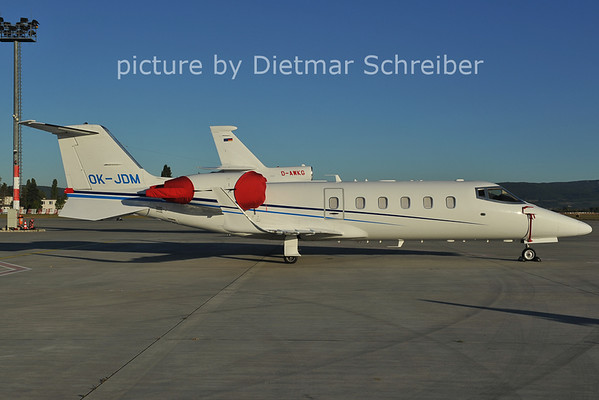 2011-09-13 OK-JDM Learjet 60