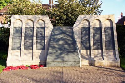 The 617 Sqn Memorial.