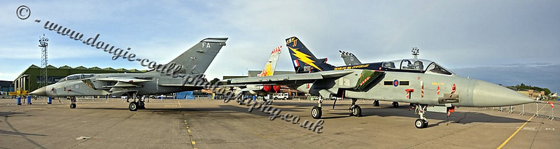 Four Tornadoes - Leuchars 2008