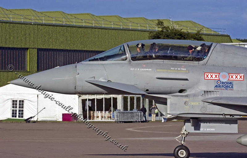 Typhoon & Crew - Leuchars 2008