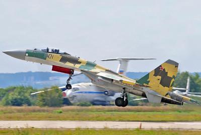 """Sukhoi Su-35S Flanker-E """"901 Black"""""""