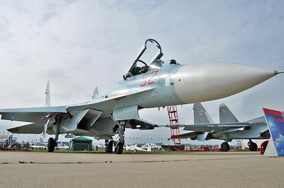 "Sukhoi Su-27SM3 Flanker-B RF-93728/""52 Red"""