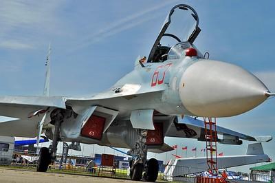 "Sukhoi Su-27SM3 Flanker-B RF-90745/""63 Red"""
