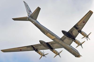 "Tupolev Tu-95MS Bear-H RF-94121/""21 Red"""