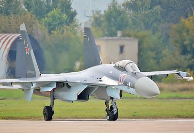 """Su-35S Flanker-E """"07 Red"""""""