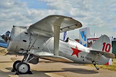 "Polikarpov I-153 Chaika RA-1562G/""10 Red"""