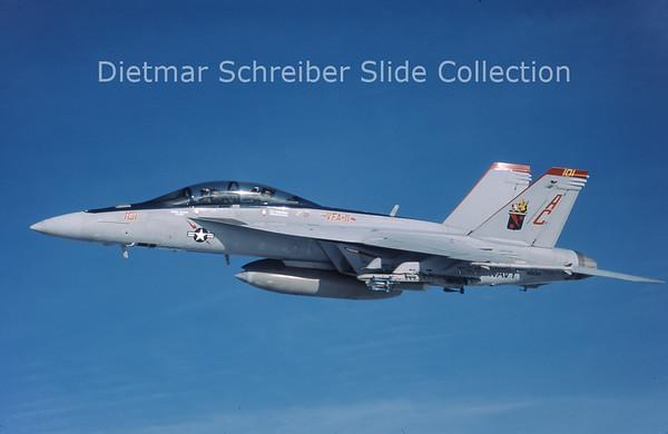 2007-04 166634 MDD F/A 18F Hornet (c/n F127) United States Navy