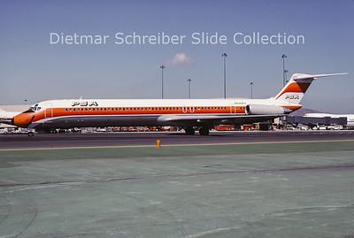 1983-10 N940PS MDD MD82 (c/n 48095) PSA