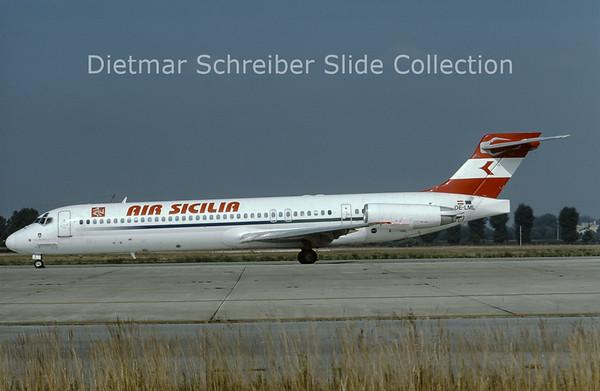2001-07 OE-LML MDD MD87 (c/n 49412) Air Sicilia