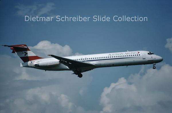 OE-LML MDD MD87 (c/n 49412) Austrian Airlines