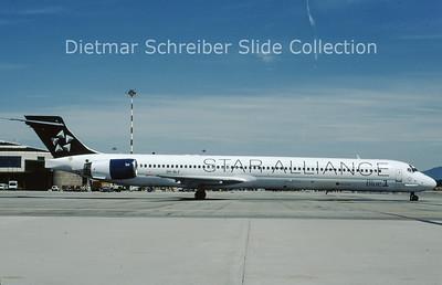 2009-06 OH-BLF  MDD MD90 (c/n 53543) Blue 1
