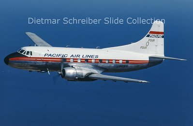 1997-07 N636X Martin 404 (c/n 14135) Pacific Airlines